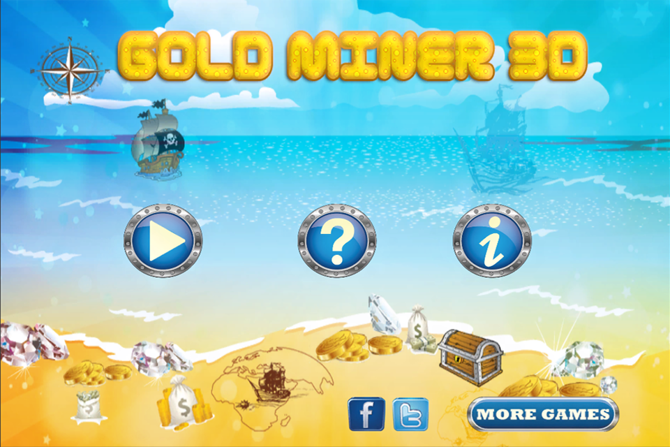 Screenshot Gold Miner 3D.